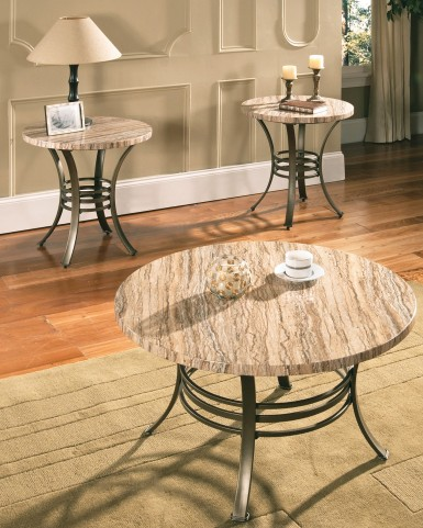 Ellen 3 Piece Occasional Table Set