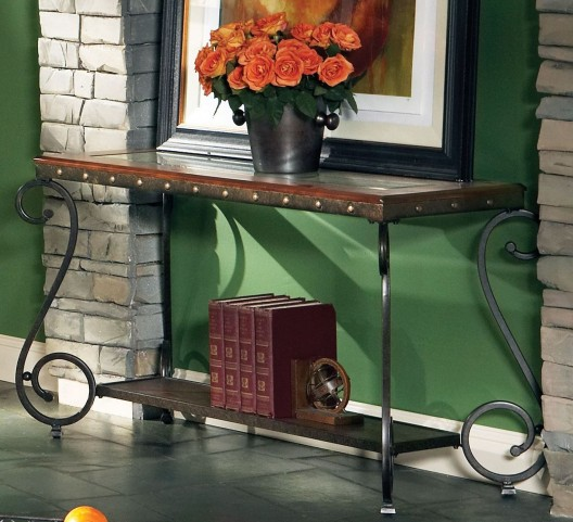 Ellery Medium Cherry Sofa Table