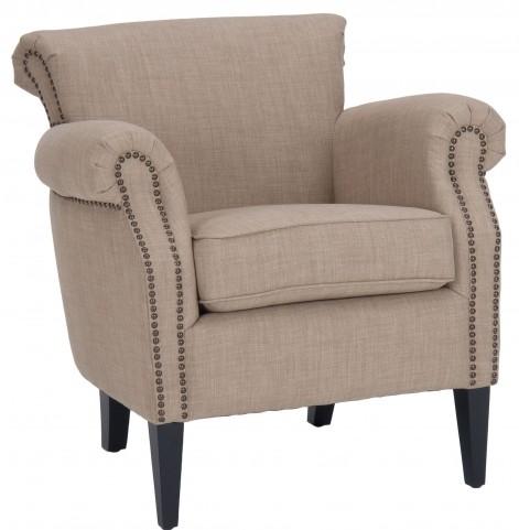 Emma Wheat Club Chair