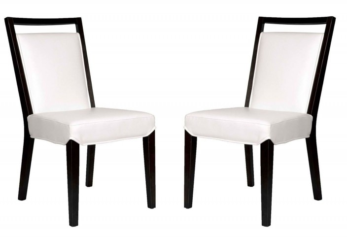 Basix Enzo White Dining Chair Set of 2