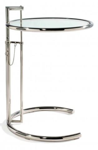 Modern Classics Eva Chrome End Table