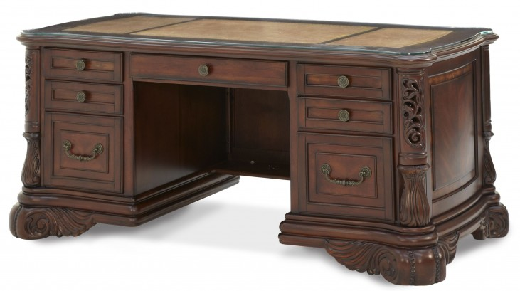 Excelsior Fruitwood Home Office Desk