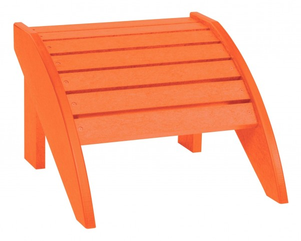 Generations Orange Footstool