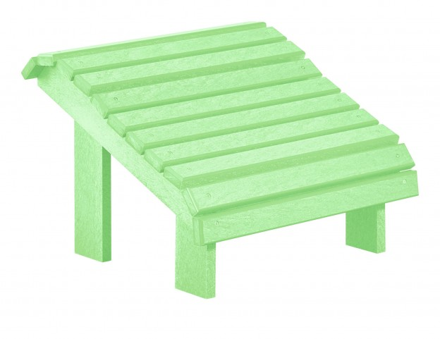 Generations Lime Green Premium Footstool