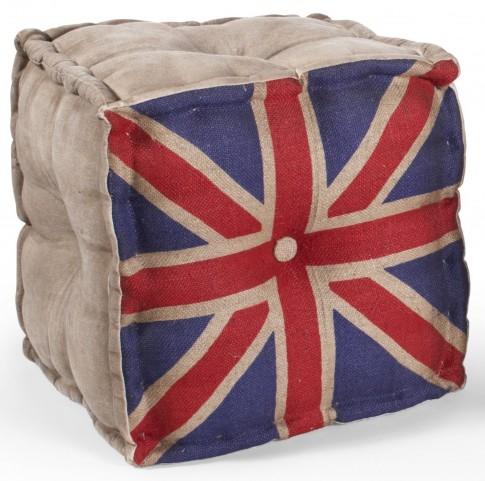 UK Flag Pouf