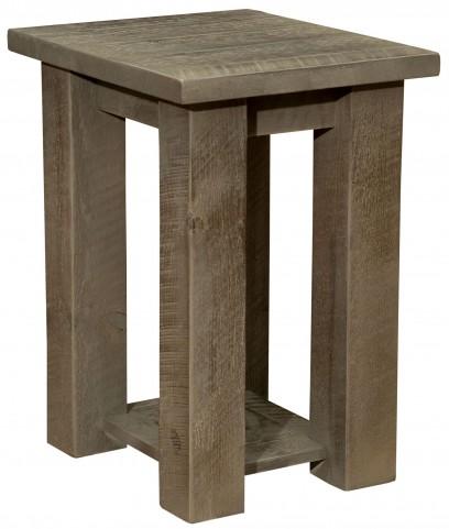 Frontier Driftwood Open Nightstand