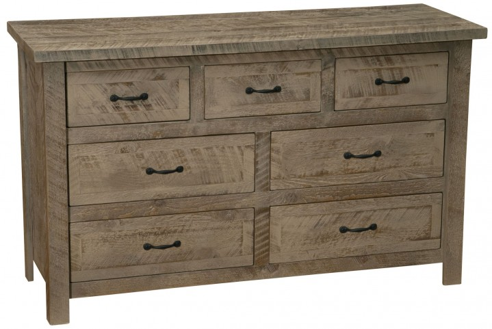 Frontier Driftwood Value Seven Drawer Dresser