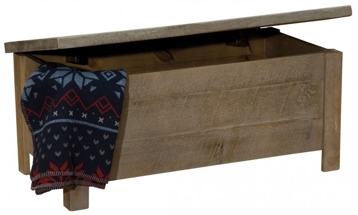Frontier Driftwood Blanket Chest