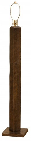 Frontier Barn Brown Floor Lamp Without Lamp Shade