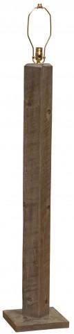 Frontier Driftwood Floor Lamp Without Lamp Shade