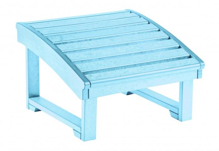 St Tropez Aqua Footstool