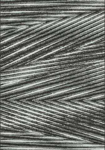 Fame Grey/Cream Palm Leaf Large Rug