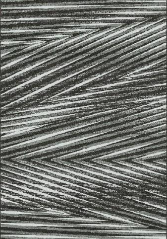 Fame Grey/Cream Palm Leaf Medium Rug