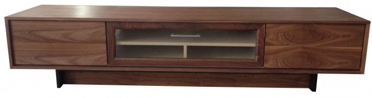 Fern Walnut 2 Door TV Stand