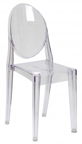 Transparent Crystal Ghost Side Chair