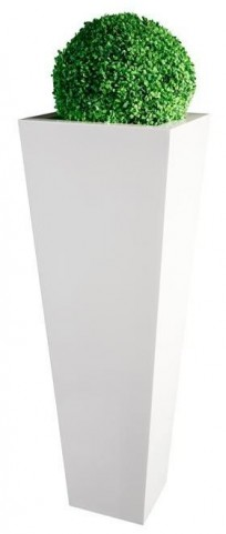 Fiore White Flower Stand