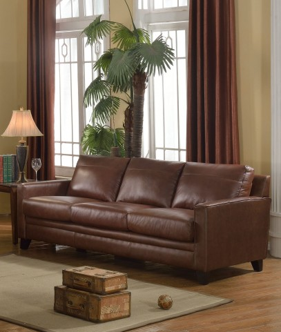 Fletcher Brown Sofa