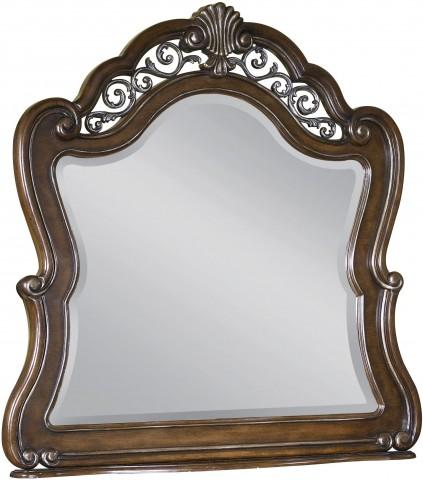 Birkhaven Brown Wood Mirror