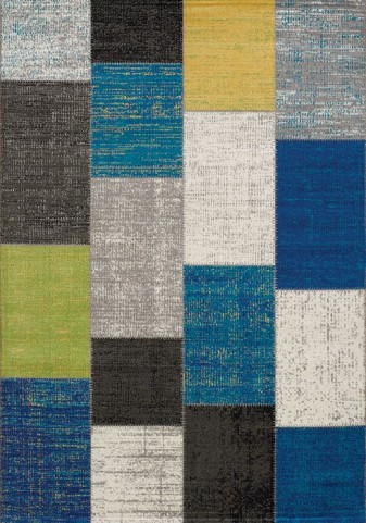 Forte Multi Patchwork Large Rug