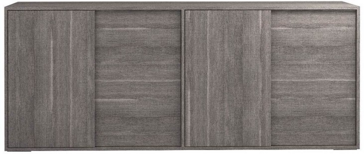 Vivente Matte Grey Forte 4 Drawer Buffet