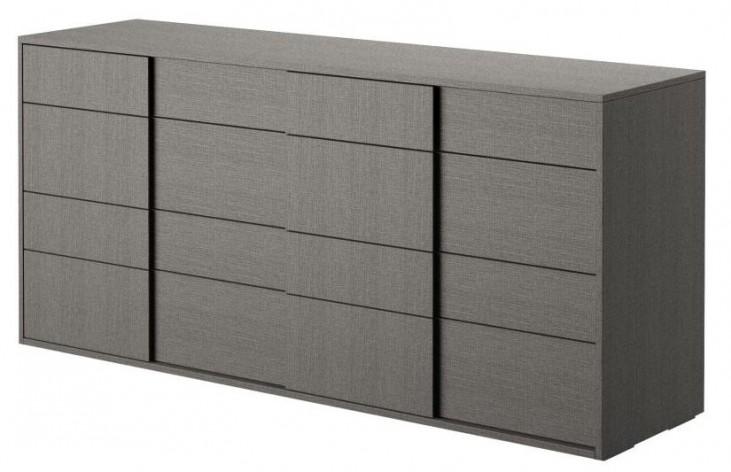Vivente Forte Matte Grey Double Dresser
