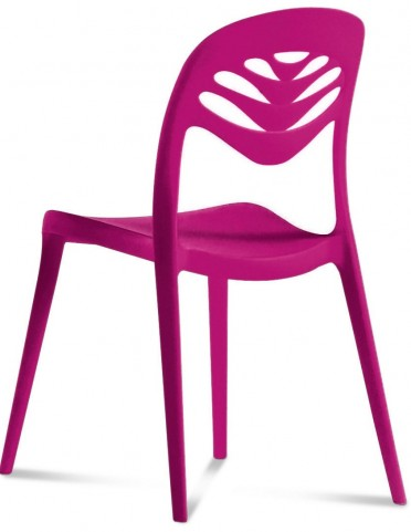 ForYou2 Purple Stacking Chair Set of 4