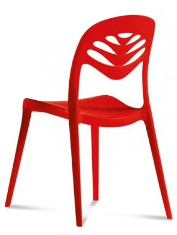 ForYou2 Red Stacking Chair Set of 4