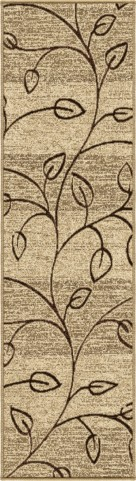 "Four Seasons Kingwood Driftwood Runner 96"" Rug"