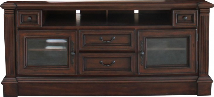 "Franklin Vintage Umber 65"" TV Console"