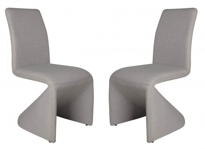 Regis Galla Stone Grey Dining Chair Set of 2