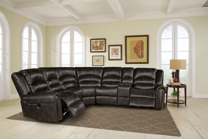 Gershwin Ember Power Reclining Sectional