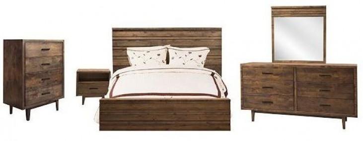 Glendale Whiskey Platform Bedroom Set