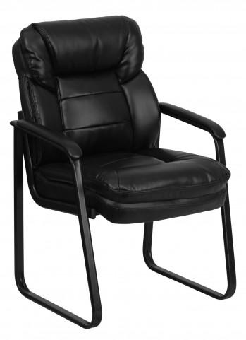 Black Sled Base Side Chair