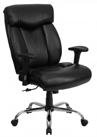 1000916 HERCULES Big & Tall Black Arm Office Chair