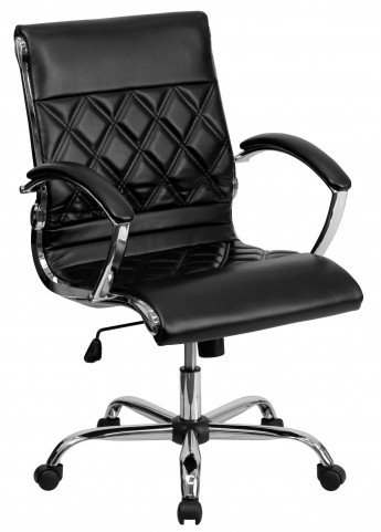Designer Black Executive Office Chair
