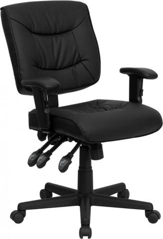 1000924 Black Multi Functional Task Chair