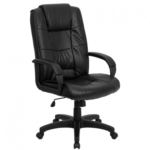 6High Back Black Executive Office Chair