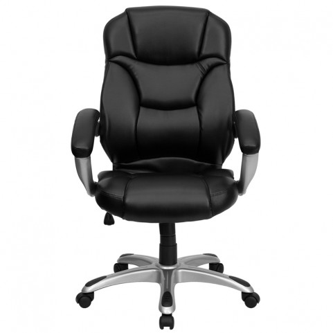 1000955 High Back Black Contemporary Office Chair