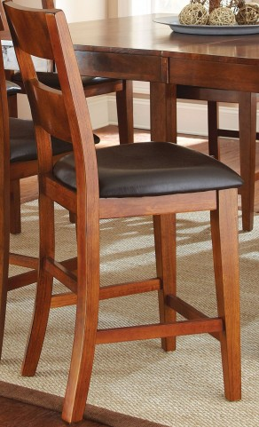 Mango Medium Brown Counter Chair Set of 2