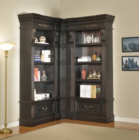 Grand Manor Palazzo Small L-Shape Bookcase