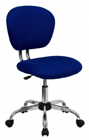 Mid-Back Blue Task Chair