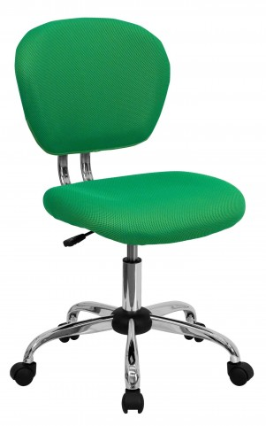 Mid-Back Bright Green Task Chair