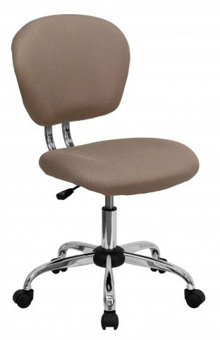 Mid-Back Coffee Brown Task Chair