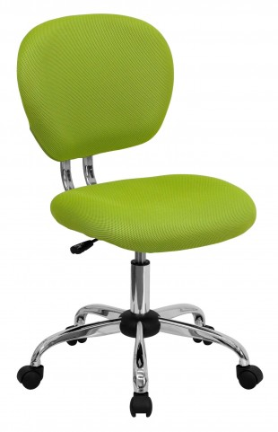 Mid-Back Apple Green Task Chair