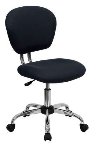 Mid-Back Gray Task Chair