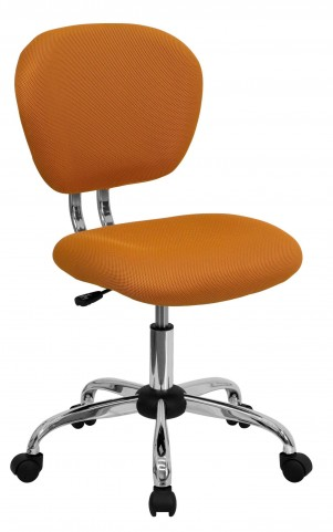 Mid-Back Orange Task Chair