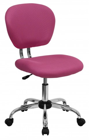 Mid-Back Pink Task Chair