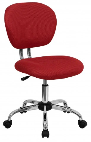 Mid-Back Red Task Chair