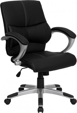 Black Contemporary Manager's Office Chair