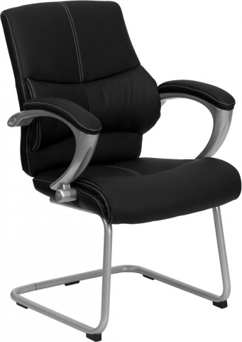 Black Tall Executive Side Chair